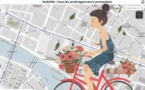 Pariscyclette : carte des aménagements provisoires de pistes cyclables à Paris