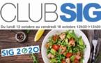 CLUB SIG, votre rendez-vous quotidien durant [LIVE] SIG2020