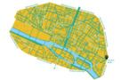 """Une """"ZTL"""" Zone à Trafic Limité dans le centre de Paris"""