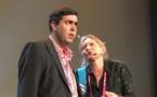 La scène de Françoise et Philippe... sur scène